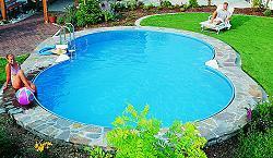 Achtform pool umrandung schwimmbad und saunen for Poolumrandung achtformbecken