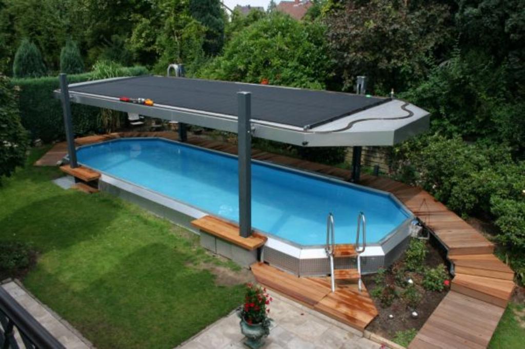Pool heizung und schwimmbecken viel geld sparen durch for Poolumrandung aufstellbecken