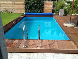 kleiner pool im garten selber bauen – greengrill, Garten und Bauten