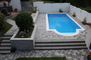 Garten Neugestaltung Mit Pool ...