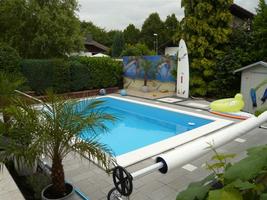 gartengestaltung kleiner garten mit pool – bankroute, Garten dekoo